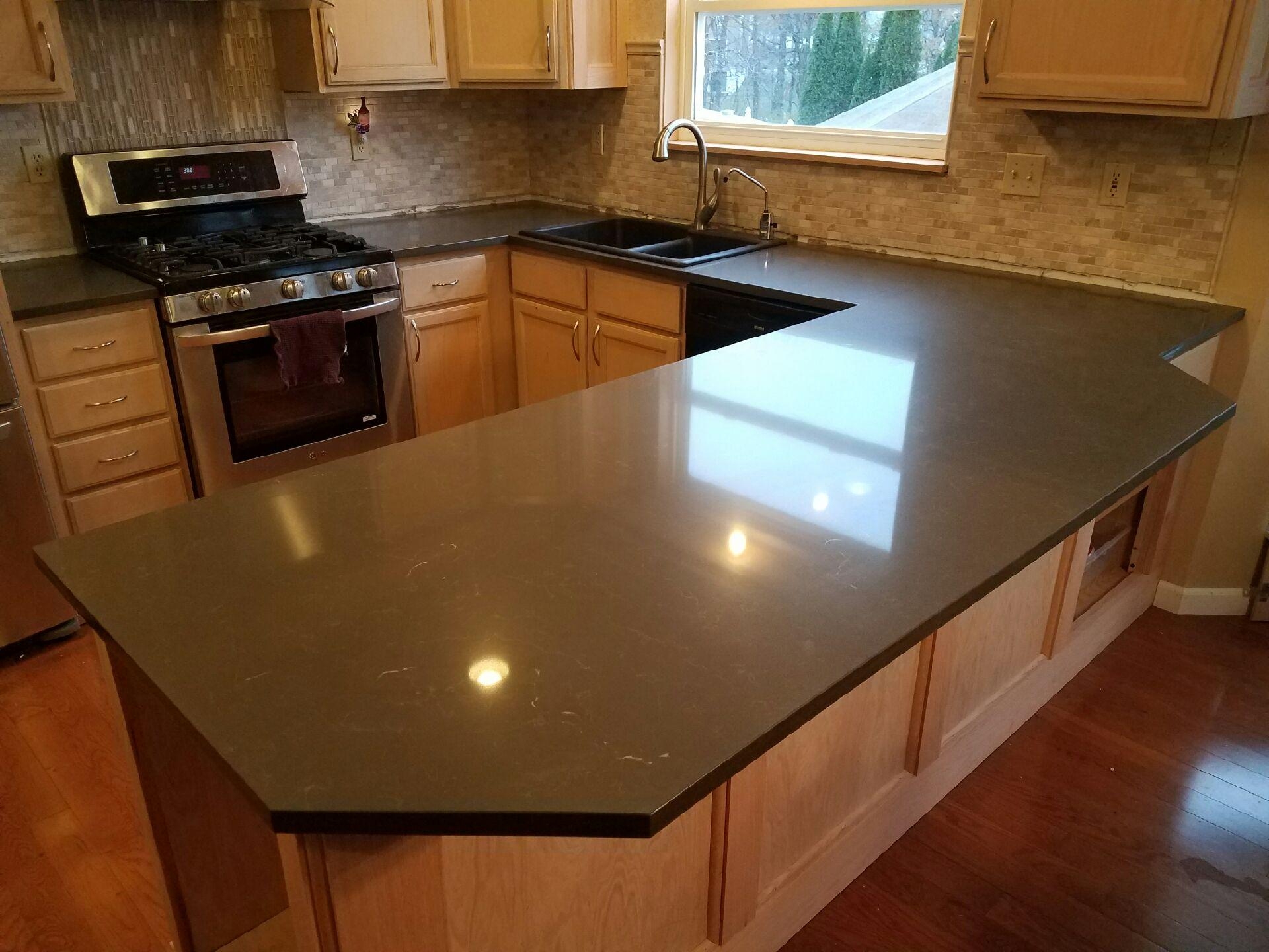 Quartz Kitchen Gallery Quartz Countertops O 39 Fallon St Charles Mo