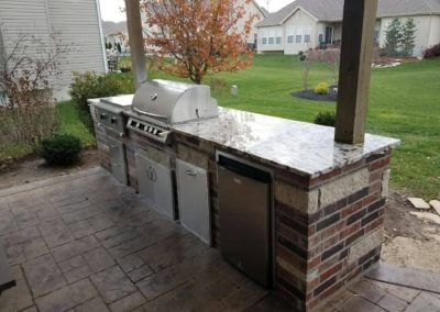 Delicatus Cream Outdoor Kitchen