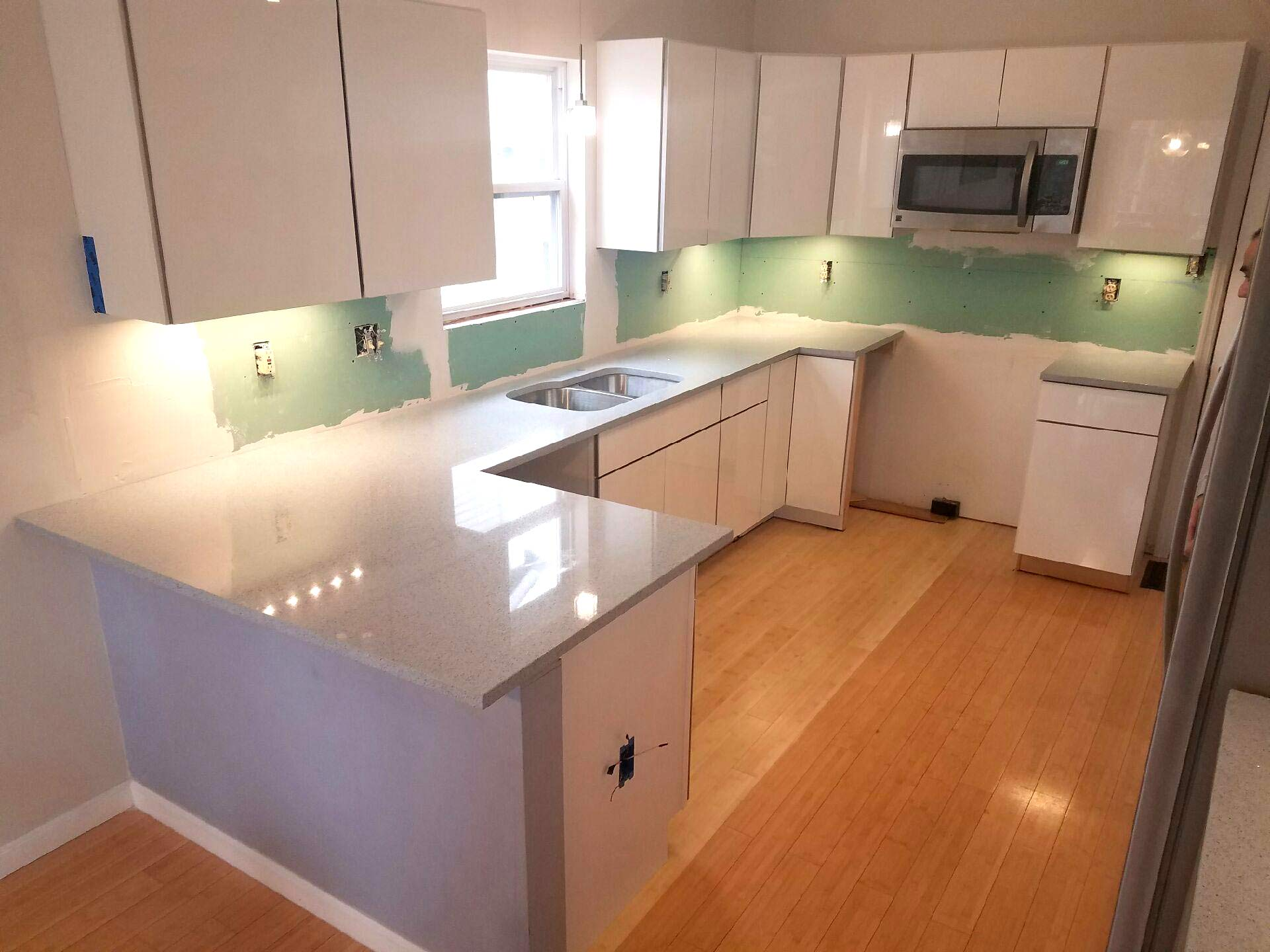 how to join quartz countertops