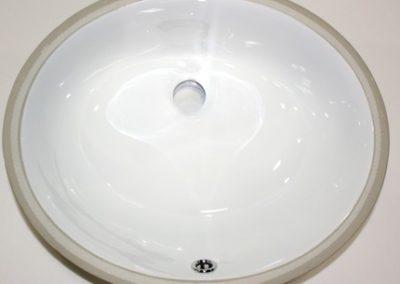 Porcelain Oval - White