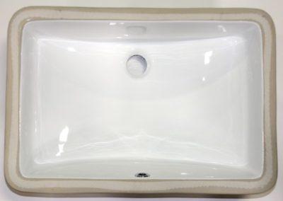 Porcelain Rectangle - White