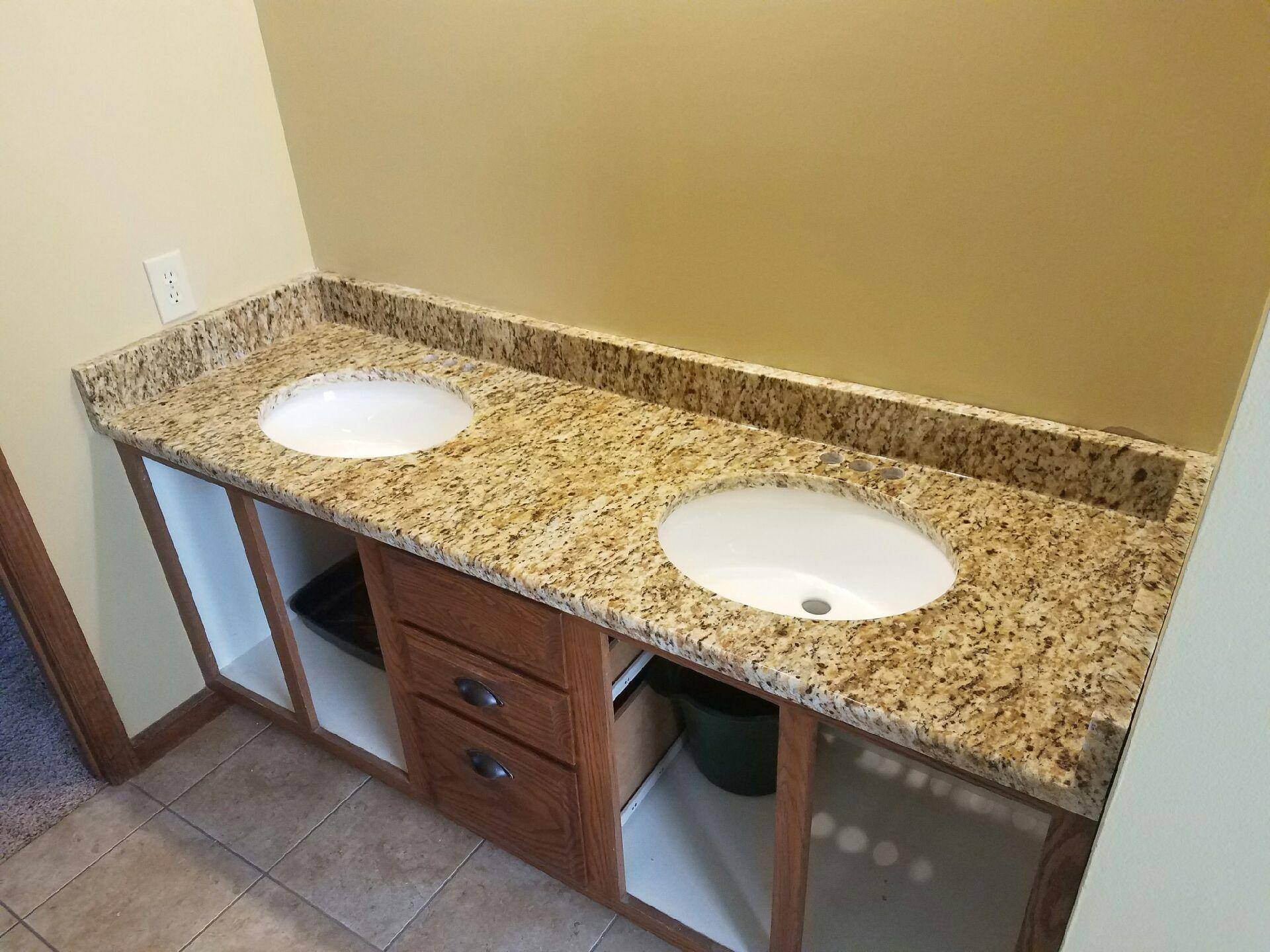 Granite Bathroom Gallery Vanity Countertop Slab St Peters Mo