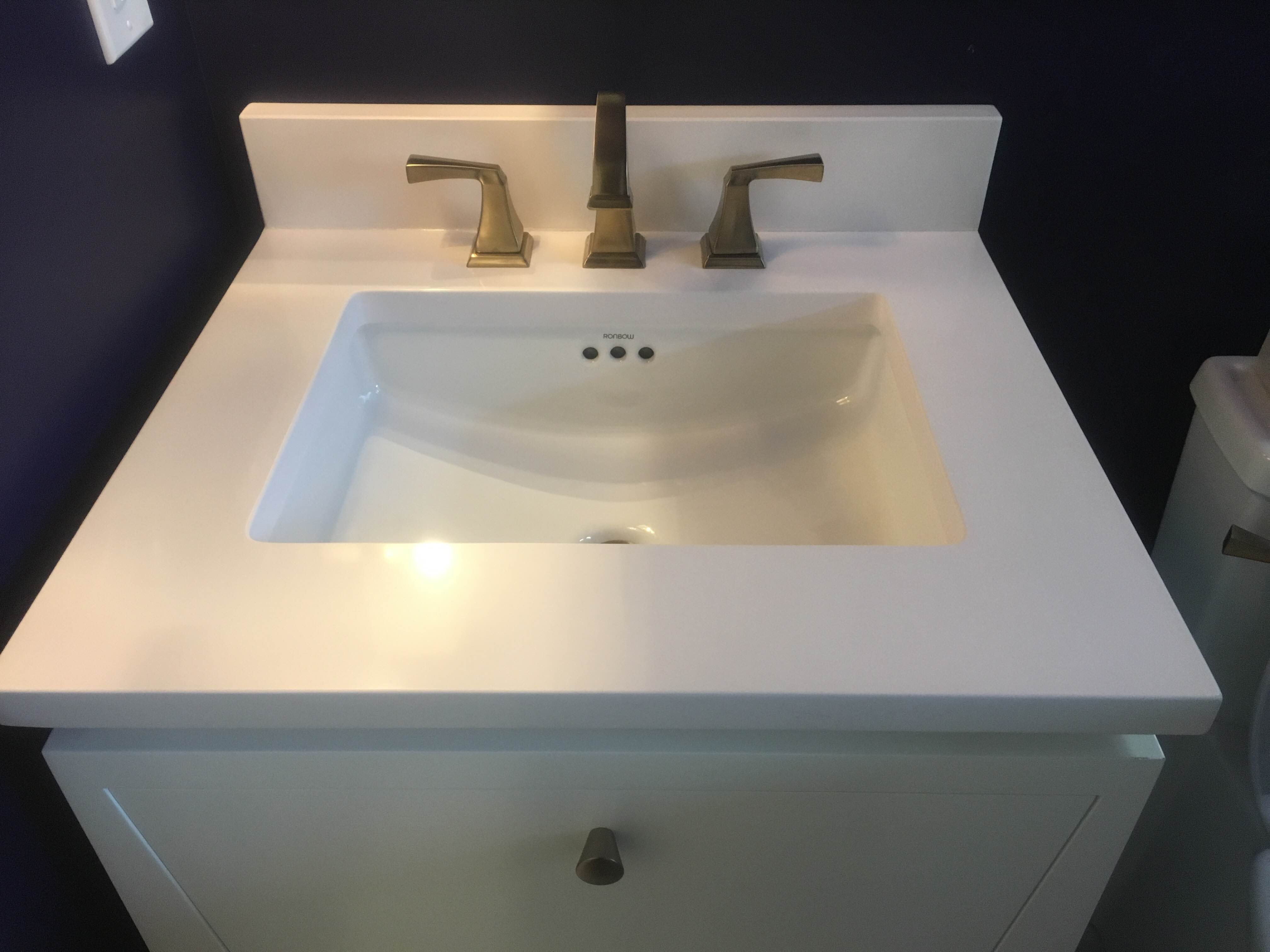 Quartz Bathroom Gallery Vanity Design St Charles Mo
