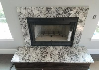 Splendour White Fireplace