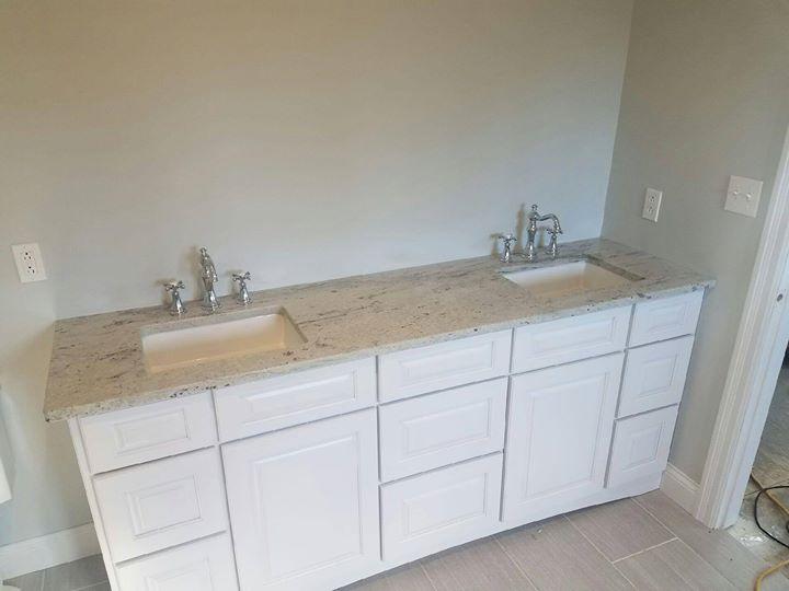 Granite Bathroom Gallery Vanity Countertop Slab